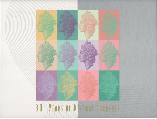 1996 Thirty Years Decimal Currency $5 Black Serial