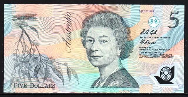 $5 : Bank Notes Aussie, Buy Australian banknotes
